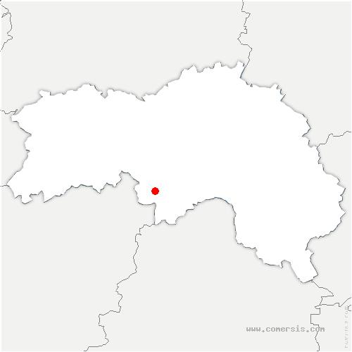 carte de localisation de L'Orée-d'Écouves