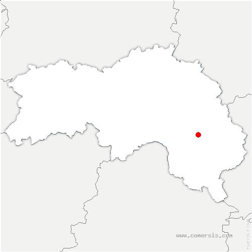carte de localisation de Loisail