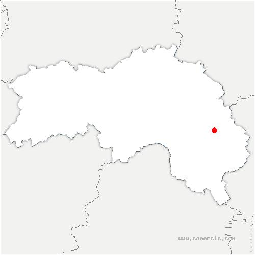 carte de localisation de Longny-les-Villages