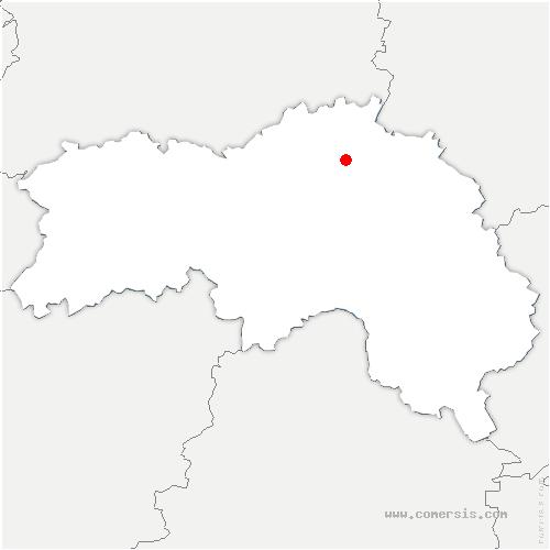 carte de localisation de Mardilly