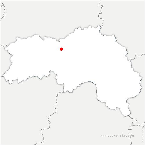 carte de localisation de Moulins-sur-Orne