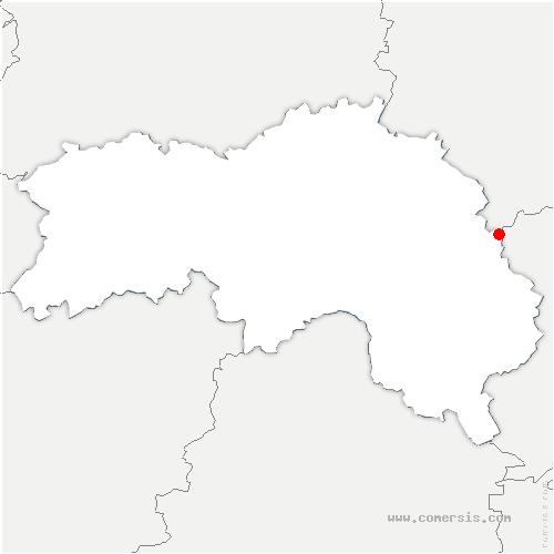 carte de localisation de Moussonvilliers