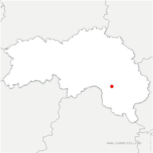 carte de localisation de Parfondeval