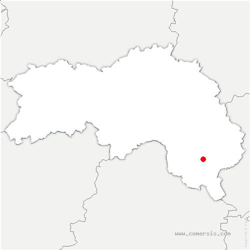 carte de localisation de Perche-en-Nocé