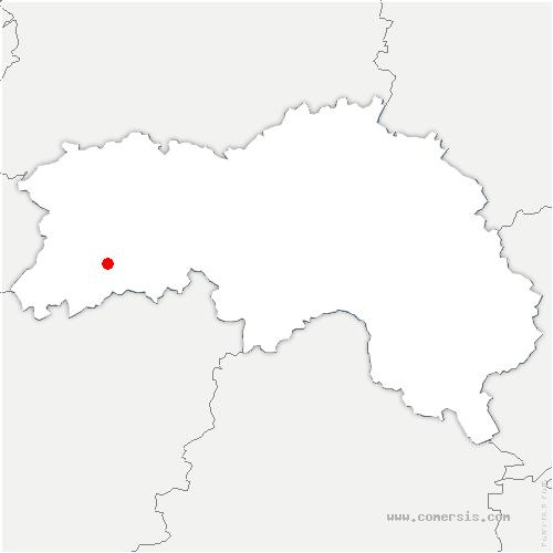 carte de localisation de Perrou