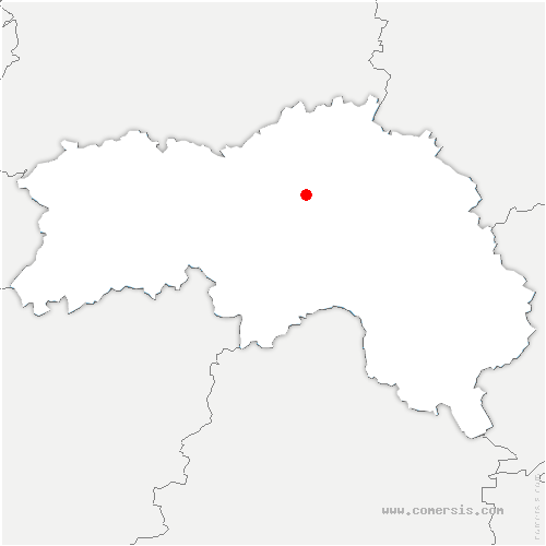 carte de localisation de Pin-au-Haras