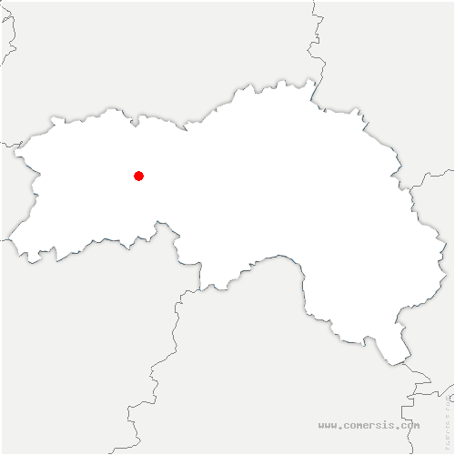 carte de localisation de Pointel