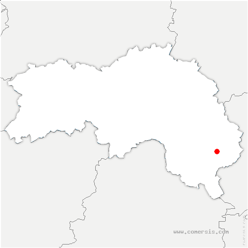 carte de localisation de Rémalard-en-Perche