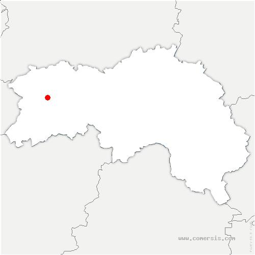 carte de localisation de Saint-André-de-Messei