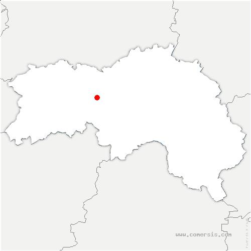 carte de localisation de Saint-Brice-sous-Rânes