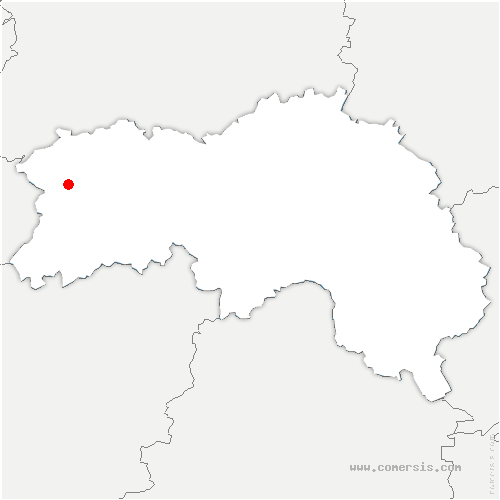 carte de localisation de Saint-Clair-de-Halouze