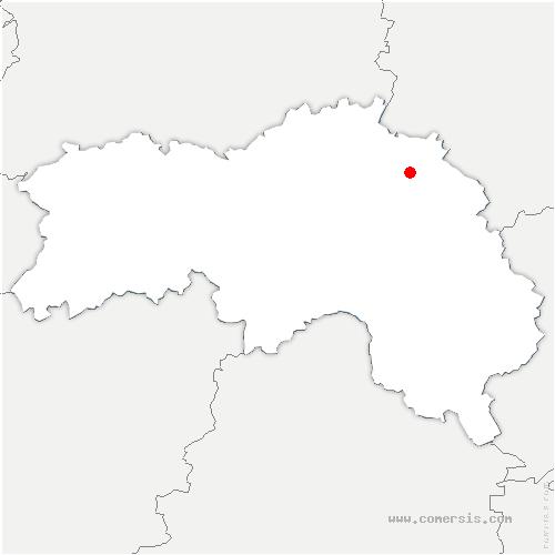 carte de localisation de Saint-Evroult-Notre-Dame-du-Bois