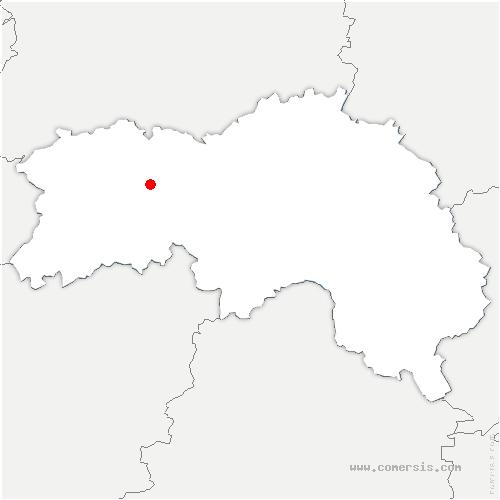 carte de localisation de Saint-Hilaire-de-Briouze
