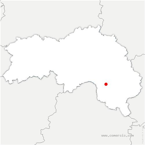carte de localisation de Saint-Jouin-de-Blavou