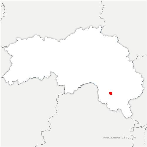 carte de localisation de Saint-Martin-du-Vieux-Bellême