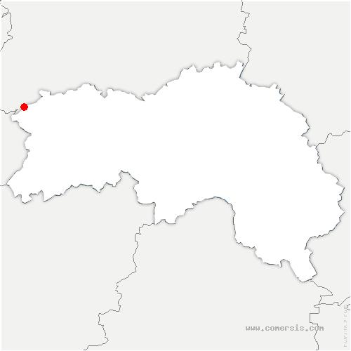 carte de localisation de Saint-Quentin-les-Chardonnets