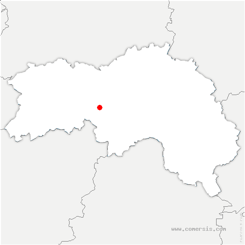 carte de localisation de Sainte-Marie-la-Robert