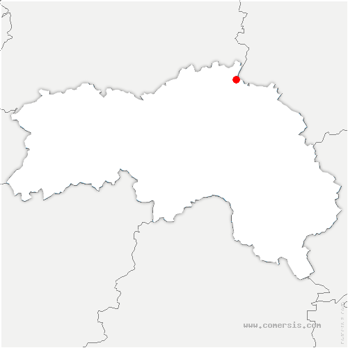 carte de localisation de Sap-en-Auge