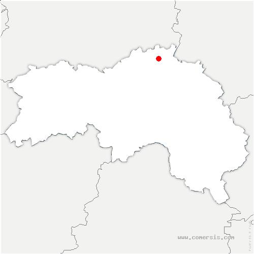 carte de localisation de Ticheville