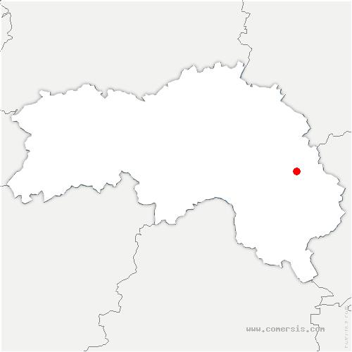 carte de localisation de Tourouvre-au-Perche