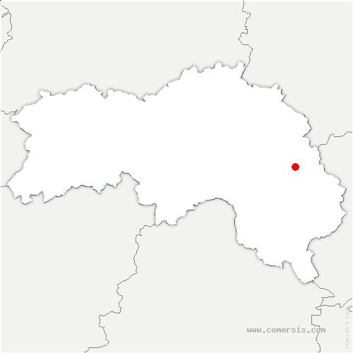 carte de localisation de Ventrouze