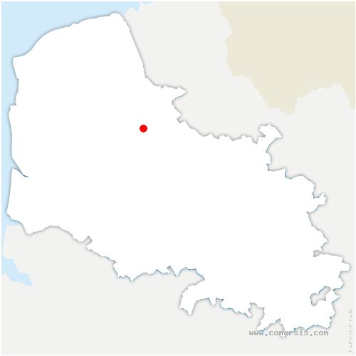 carte de localisation de Herbelles