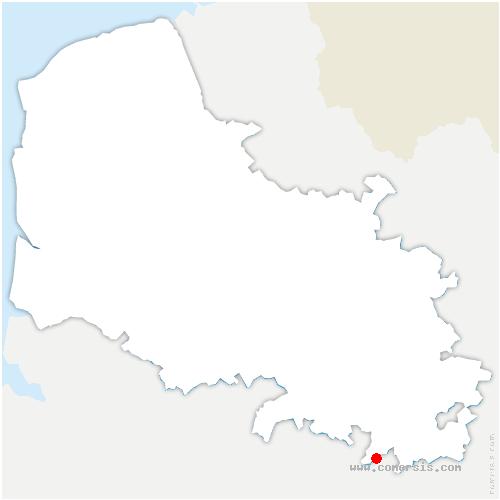 carte de localisation de Martinpuich