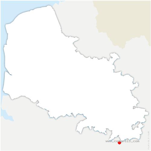 carte de localisation de Morval