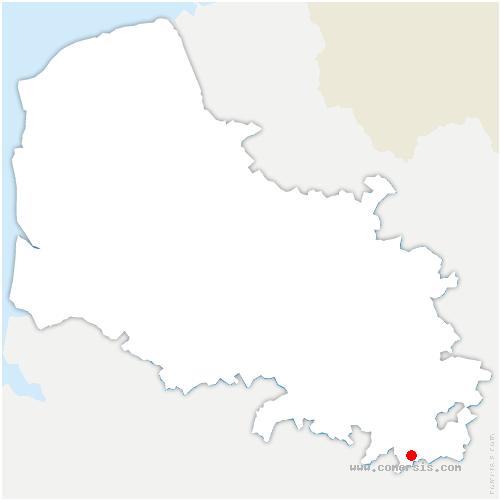 carte de localisation de Transloy