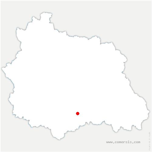 carte de localisation de Antoingt