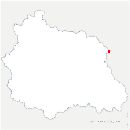 carte de localisation de Arconsat