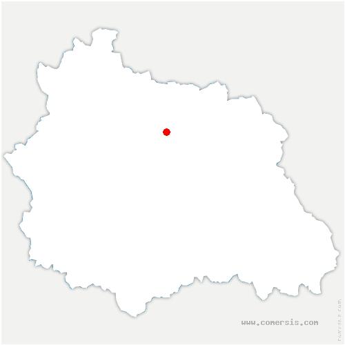 carte de localisation de Clerlande