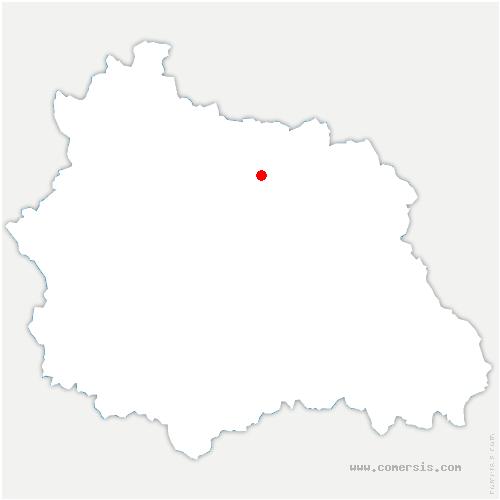carte de localisation de Martres-sur-Morge
