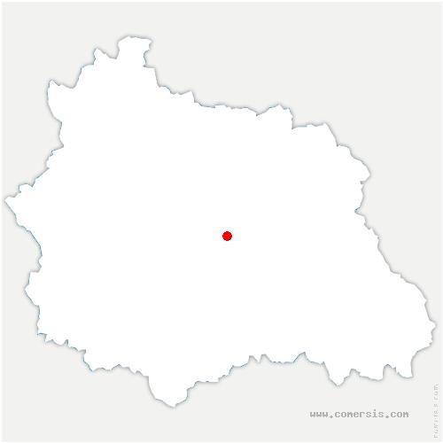 carte de localisation de Mur-sur-Allier