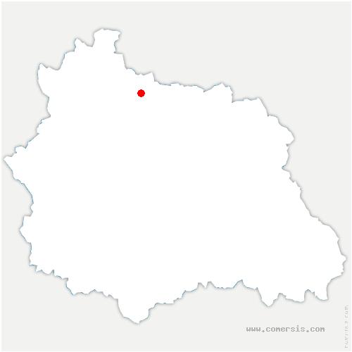 carte de localisation de Saint-Pardoux