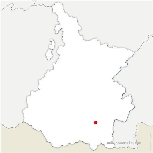 carte de localisation de Guchen