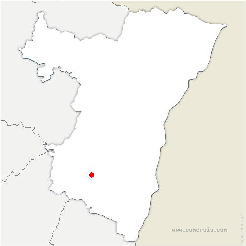 carte de localisation de Andlau