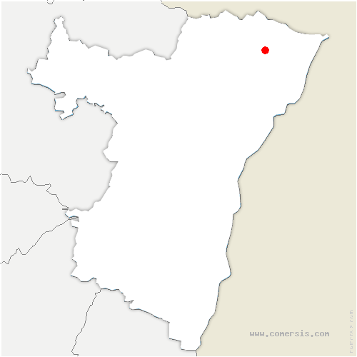 carte de localisation de Aschbach