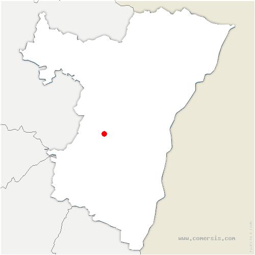carte de localisation de Balbronn