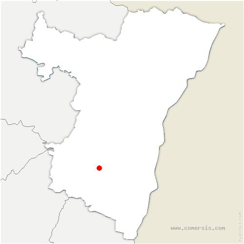 carte de localisation de Barr