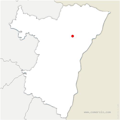 carte de localisation de Batzendorf