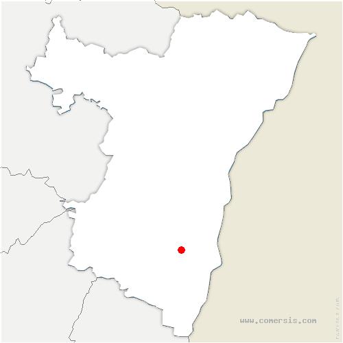 carte de localisation de Benfeld
