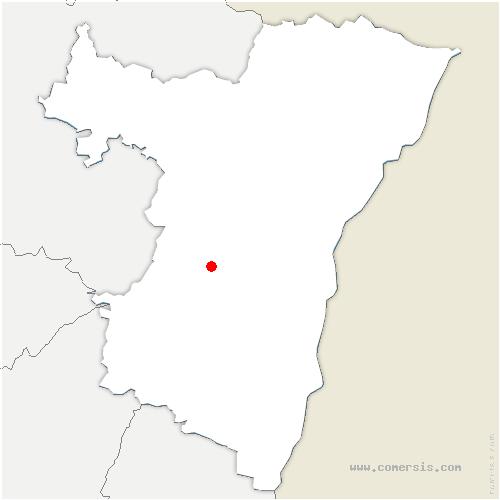 carte de localisation de Bergbieten