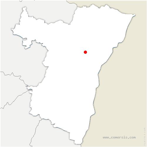 carte de localisation de Bernolsheim