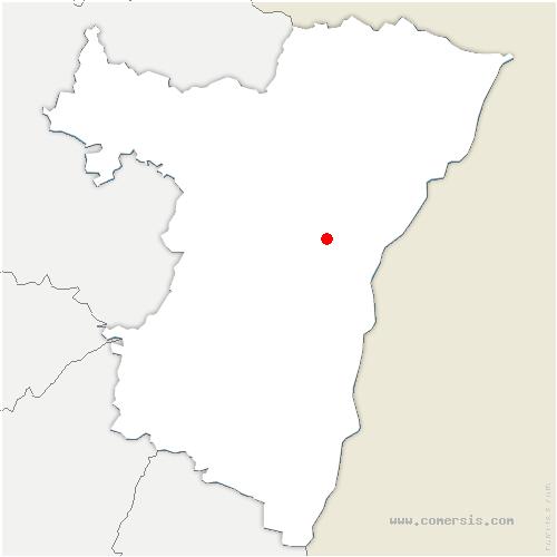 carte de localisation de Berstett