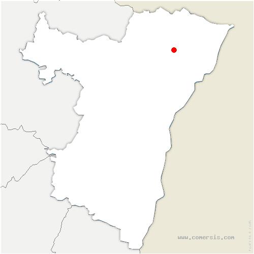 carte de localisation de Betschdorf