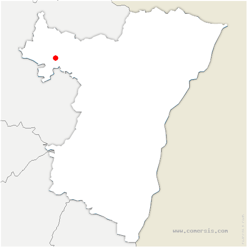carte de localisation de Bettwiller