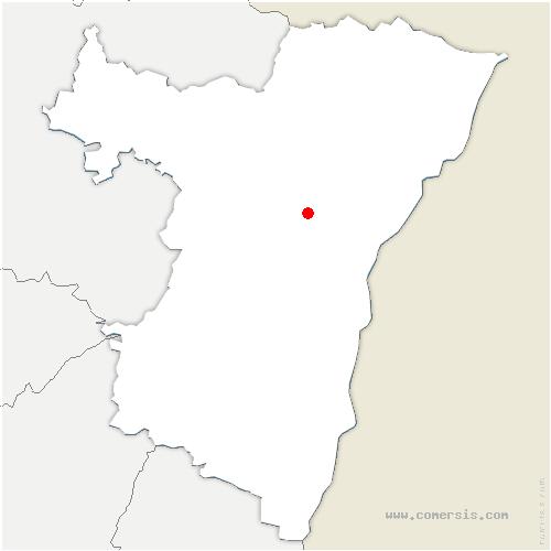 carte de localisation de Bilwisheim