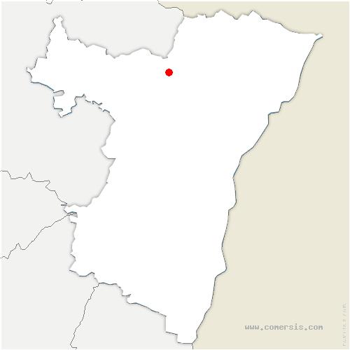carte de localisation de Bischholtz