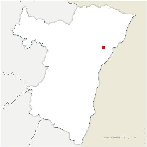 carte de localisation de Bischwiller